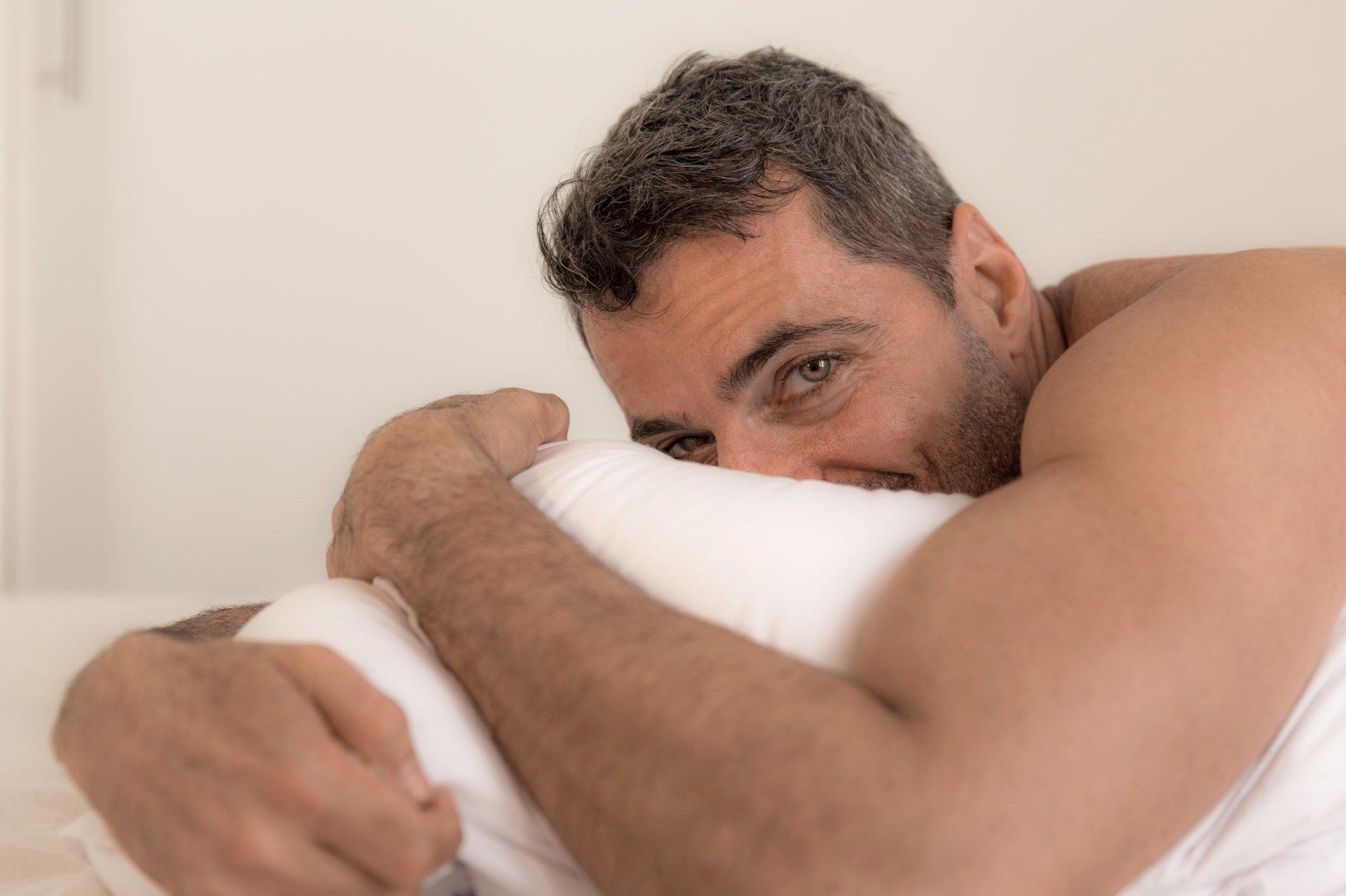 nėra erekcijos dėl nuovargio