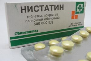 nistatinas ant varpos nėra traukos ir erekcijos